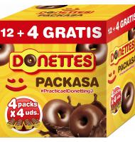 Donuts donettes 12 4 clasicos de 304g.