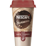 Nestle_ shakissimo cafe con leche sabor galletas chocolate envase de 19cl.