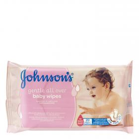 Johnson's toallitas bebe on the go 20