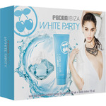 Pacha ibiza queen white party eau toilette femenina body lotion tubo de 10cl. en spray