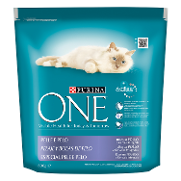 Purina One menu gato pelaje & bolas pelo pico en pollo cereales integrales one de 800g.