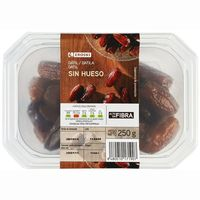 Eroski datil sin hueso de 250g. en tarrina