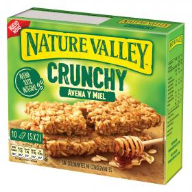 Nature Valley barrita avena miel por 10 unidades