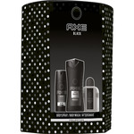 Axe black pack con bodyspray gel baño after shave de 10cl. en bote