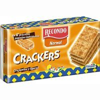 Recondo crackers normal de 250g. en paquete