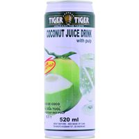 Tiger coconut juice drink de 52cl. en lata