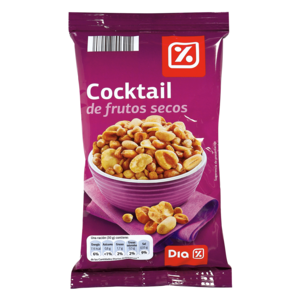 Dia cocktail salado frutos secos de 200g. en bolsa