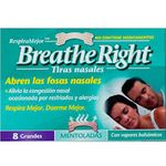 Breathe Right breathe right tiras nasales mentoladas grandes 8u