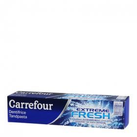 Carrefour dentifrico extreme fresh de 75ml.