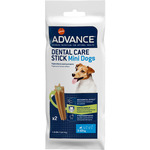 Advance dental care stick triple efecto contra sarro perros raza mini envase 3-10 por 2 unidades