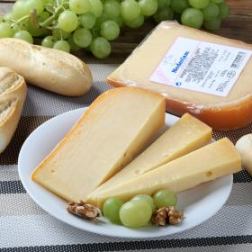 Milner queso gouda curado light cuña de 250g.