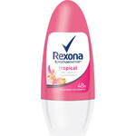 Rexona desodorante roll on girl tropical power envase de 50ml.