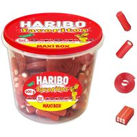 Haribo maxibox favoritos red mixharibo, de 600g. en tarrina