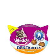 Snacks para gatos dentabites de 40g.
