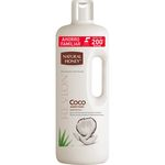 Natural Honey gel baño coco adiction de 1,5l.