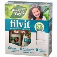 Filvit antipiojos nature kit de 25cl.