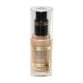 El Miracle maquillaje match nº 75 golden max fp de 30ml.
