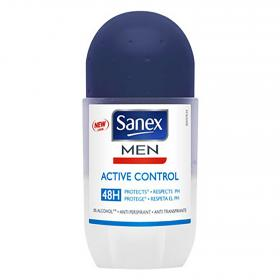Sanex For Men desodorante active control roll on sanex men sanex men de 50ml.