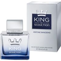 Colonia para hombre king of seduction a. banderas de 10cl. en bote