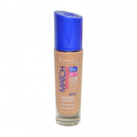 Rimmel base maquillaje liquido match perfection nº 301 warm honey