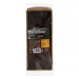 Carrefour tarten chocolate de 300g.