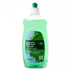 Carrefour Eco lavavajillas liquido planet de 50cl.