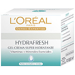 Loreal dermoexpertise hidratante hydrafresh piel normal de 50ml. en bote