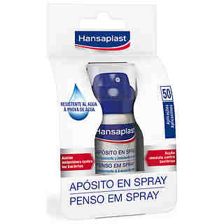 Hansaplast aposito en desinfectante de 32ml. en spray