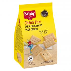 Schar mini galletas mantequilla de 125g.