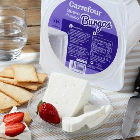 Carrefour queso fresco burgos de 250g. en tarrina