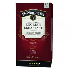 Té english breakfast sir winston 20