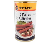 Tulip salchichas pollo hot dog de 125g. en lata