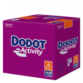 Dodot Activity pañal t 4 192