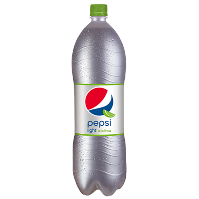 Pepsi light cola lima de 2l. en botella