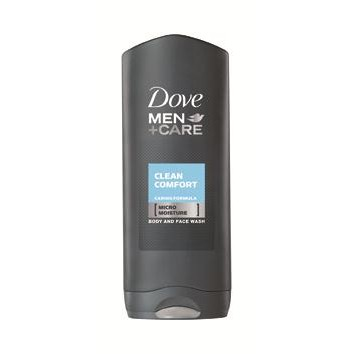 Dove gel de ducha cuerpo y cara dove men+care men clean comfort dermatológicamente testado 400 ml de 40cl. en bote