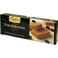 Siro colombiano wafer cafe reglero de 260g.
