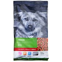 Eroski Friends mix buey pollo arroz de 10kg. en bolsa