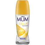 Mum desodorante roll on deluxe flor loto sin alcohol envase de 50ml.