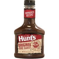 Hunts salsa barbacoa original de 510g.