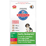 Hill's Science plan puppy healthy development nutricion superior cachorros con pollo de 12kg. en bolsa