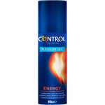 Control pleasure gel lubricante energy efecto calor de 50ml. en bote