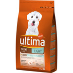 Ultima mini light con pollo perros raza mini de 1,5kg. en paquete
