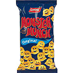 Lorenz monster munch snacks original de 75g.