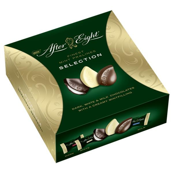 After Eight bombones selection de 122g.