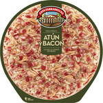 Casa Tarradellas pizza atun bacon de 405g.