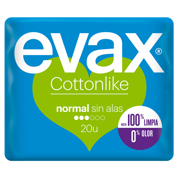 Evax cottonlike normal 20 en bolsa