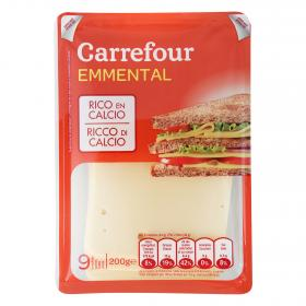Carrefour queso emmental de 200g.