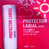 Solcare protector solar labial f15