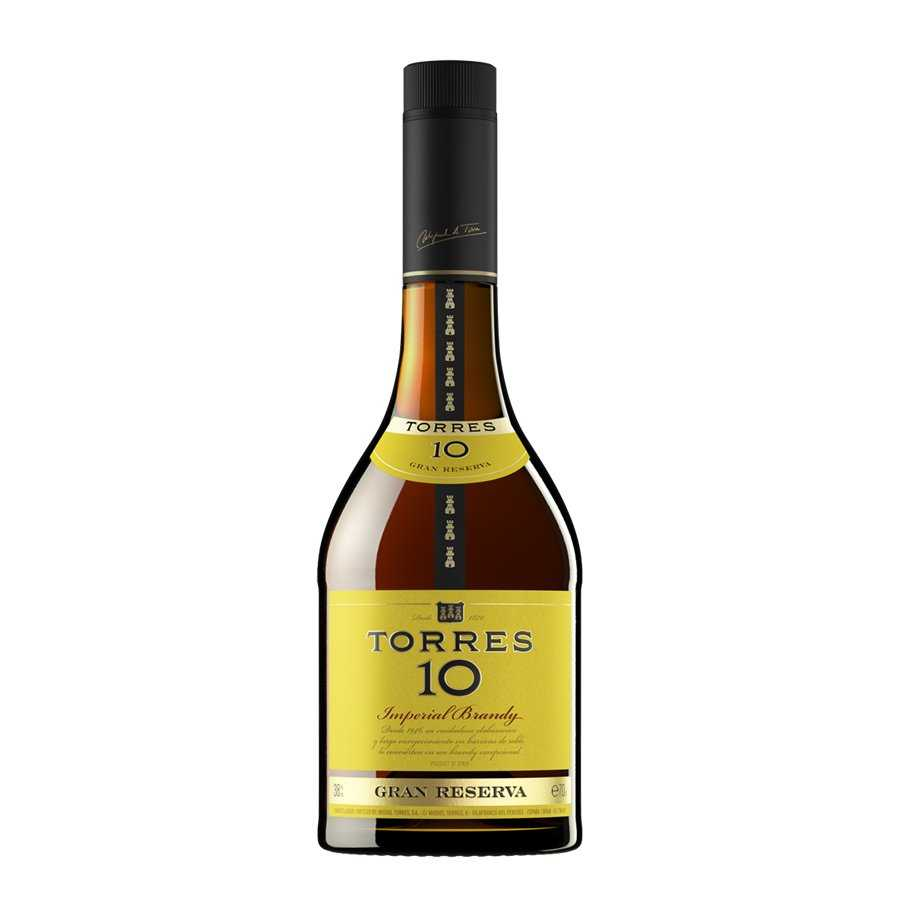 Torres brandy 10 de 70cl. en botella