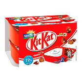 Kit Kat yogur natural trozos mix it nestle de 115g. por 4 unidades en paquete